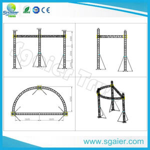 Spigot Box Truss 290*290mm as Stage Roof pictures & photos