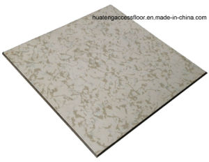 Anti-Static Raised Floor with Integral Edge Trim (45 degree beveled edge) pictures & photos