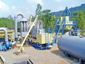 Portable Asphalt Batch Plant pictures & photos