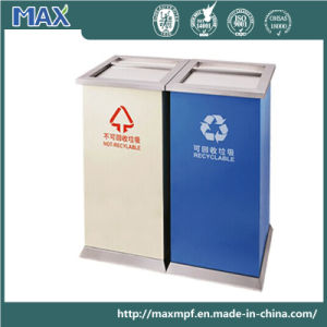 Steel Powder Coated Standing Ashtray Bin pictures & photos