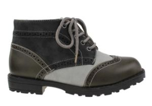 Children Leather School Shoes Girl Boy High Heel Kids Boots