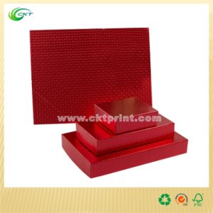 Luxury Paper Cardboard Gift Box Packaging with Lids for Jewellery, Scarf, Chocolate, Christmas, Wedding Gift Box (CKT-PB-016)