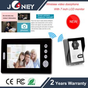 WiFi Wireless Video Doorphone with 7 Inch LCD Monitor pictures & photos