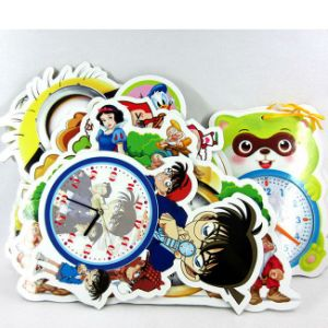 Extra Link Custom Printedrd Children Playing Card with Clock pictures & photos