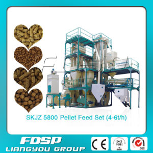Hot Sale Small Animal Feed Pellet Production Line (SKJZ5800) pictures & photos