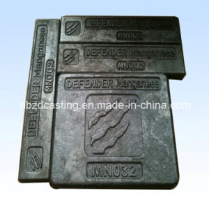 OEM Investment Steel Casting for Wearing Plate/Defender pictures & photos