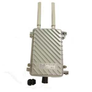Outdoor Wireless Ap 2.4GHz 11n 300Mbps WiFi Router Openwrt OS Atheros 9341 Chip Solution WiFi Coverage pictures & photos
