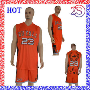 Fashionable Basketball Jersey Uniform Design pictures & photos