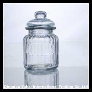 300ml Clear Glass Storage Bell Jar pictures & photos