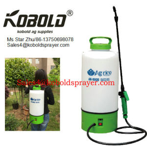 China New 12liter Trolley Electric Garden Sprayer China Garden