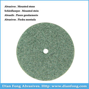 G101 Silicone Carbide Made Medium Grit Green Stone Abrasive Wheel pictures & photos