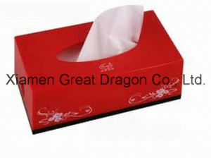 Durable 2-Ply Thickness Paper Facial Tissue Sheets (NP-1001) pictures & photos