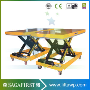 1ton to 5ton Electric Hydraulic Cylinder Lift Tables for Pallets pictures & photos