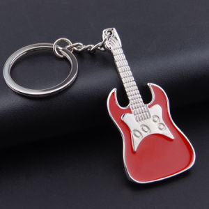 2016 Metal Creative Design Guita Key Ring for Promotion pictures & photos
