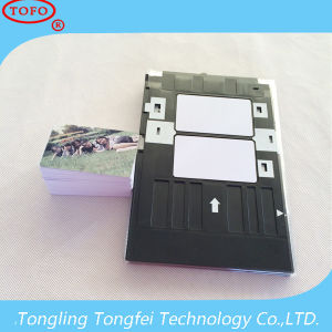 Printable 0.76mm Thickness Inkjet PVC ID Card pictures & photos