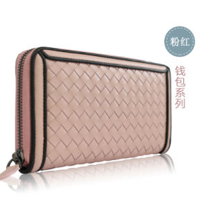 Braid Leather Designs of Wallets for Men and Women pictures & photos