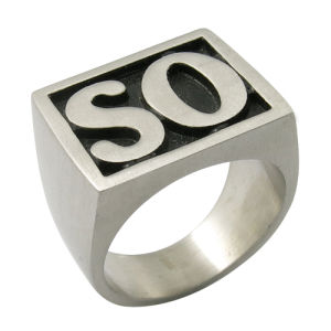 Son of Anarchy Ring Steel Fashion Jewelry So Ring pictures & photos