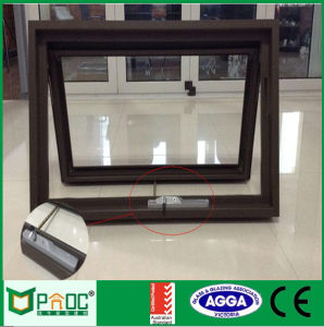 Aluminum Awning Window with Single Glass Australia Standard Pnocaw0006 pictures & photos