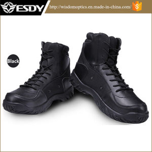 Army Men′s Tactical Boots Desert Outdoor Hiking Boots pictures & photos