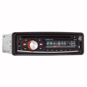 One DIN Fixed Panel Car DVD Player Ts-6007f pictures & photos