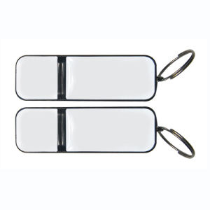 Hot Sale Promotion Gift Classic Plastic USB with Custom Rubber Logo pictures & photos