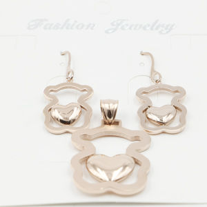 Fashionable Stainless Steel Imitation Jewelry Set pictures & photos