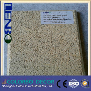 Wood Wool Acoustic Panel Interior Design Conference Room Decoration pictures & photos