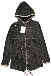 Female Spring/Autumn Fleece Zipper Jacket
