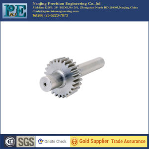 Custom Stainless Steel CNC Machining Pinion Shafts pictures & photos