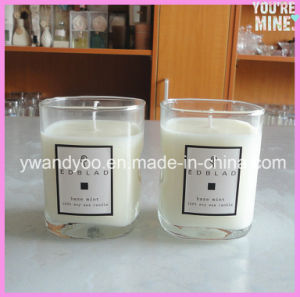 Scented Soy 175g Handmade Candle in Clear Glass Jar pictures & photos