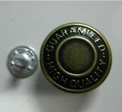 High Quality Manufacturer Replacement Metal Jeans Button pictures & photos