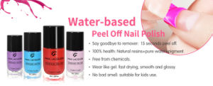Hot Sale Peel off Water Based Nail Polish pictures & photos