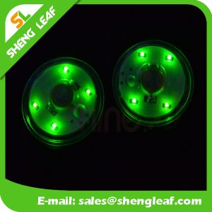 Promotional Hot Sale Custom Acrylic LED Coaster (SLF-LC020) pictures & photos