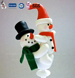 Favourite Polymer Clay Handicraft Christmas Decoration pictures & photos