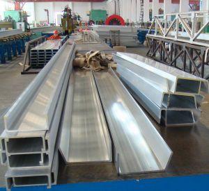 6351 T4 Aluminium U Profile pictures & photos