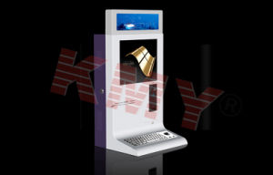 High Quality Fashional Airport Kiosk with Passport Reader pictures & photos