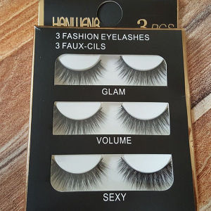 Hot Sale Synthetic Hair Material False Eyelashes Mfe2004 pictures & photos