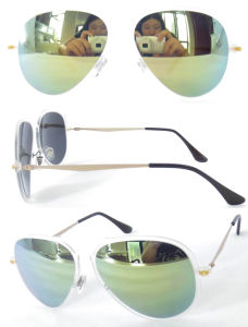 2015 New Super Thin Tr90 Sunglasses with Mirror Lens pictures & photos