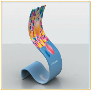 Trade Show Advertising Tension Fabric Display Snake Promotional Banner Stand pictures & photos