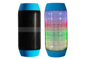 Portable LED Super Bass Wireless Speaker Bluetooth Pulse Speaker with FM Party Light Bluetooth Receiver for iPhone Samsung Tablet PC pictures & photos