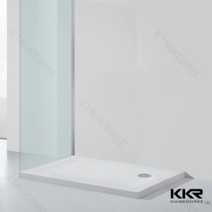 Artificial Resin Stone Shower Tray/ Acrylic Stone Shower Base pictures & photos