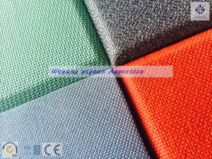 Bevel Edge Superb Quality Fabric Acoustic Ceiling Board (CSQFFBE25) pictures & photos