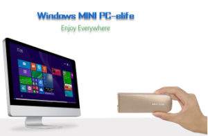 The Smallest Wireless Desktop Computer with Windows 8 Intel Quad Core CPU pictures & photos