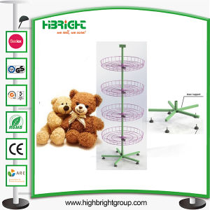 Plush Toys Rotating Spinner Display Rack Stand pictures & photos