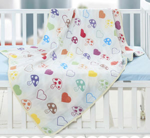 100% Bamboo Kids Blanket, Baby Swaddle Blanket pictures & photos