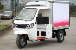 300cc Refrigerator 3 Wheel Motorcycle for Cold Food and Ice Cream pictures & photos