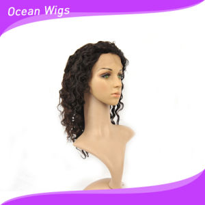 12inch Deep Wave Peruvian Hair Lace Front Wig pictures & photos