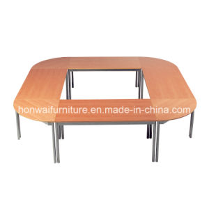 Modern Simple Design Steel Executive Table