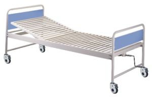CE Certificate One Crank Manual Hospital Bed (SK-MB120) pictures & photos
