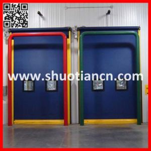 Heavy Duty Rapid Industrial Rolling Speed Door (ST-001) pictures & photos